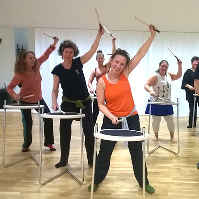 Workshop Afro-TAnz und Fit4Drums
